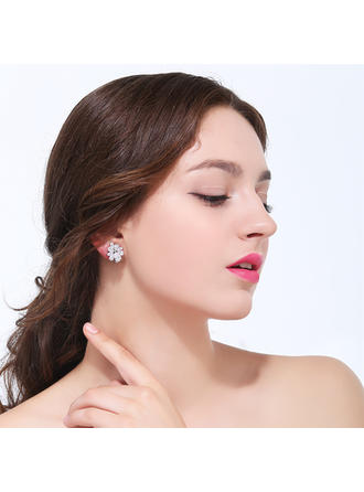 Earrings Zircon Ladies' Hottest Stud Earrings Wedding & Party Jewelry