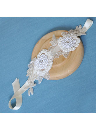 "Headbands Wedding/Special Occasion Satin 11.02""(Approx.28cm) 3.94""(Approx.10cm) Headpieces"