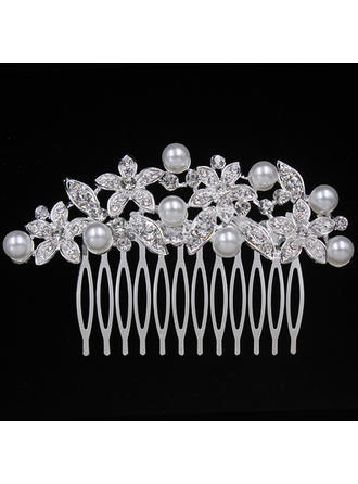 "Combs & Barrettes Wedding/Special Occasion/Party Alloy 3.74""(Approx.9.5cm) 2.36""(Approx.6cm) Headpieces"