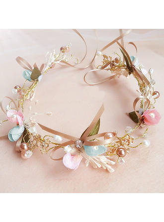 "Headbands Wedding/Party Alloy/Imitation Pearls 5.53""(Approx.14cm) 1.77""(Approx.4.5cm) Headpieces"