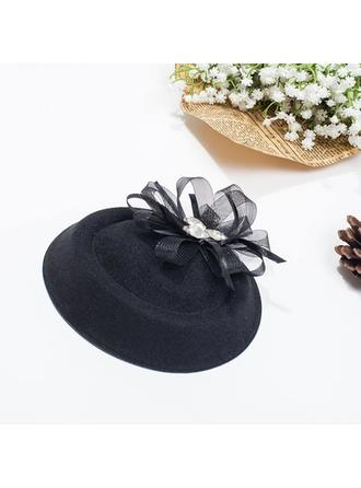 Net Yarn Bowler/Cloche Hat Beautiful Ladies' Hats