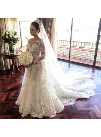 ballroom wedding dresses with sleeves