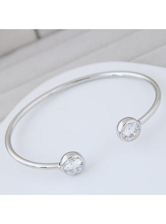"Bracelets Alloy/Zircon Ladies' Exquisite 6.30""(Approx.16cm) Wedding & Party Jewelry"