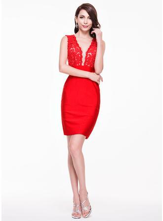 women's short sleeve cocktail dresses