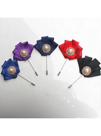 """Boutonniere Free-Form Wedding/Party Satin 1.97"""" (Approx.5cm) Wedding Flowers"""