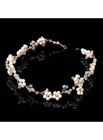 Classic Rhinestone/Imitation Pearls Headbands (Sold in single piece)