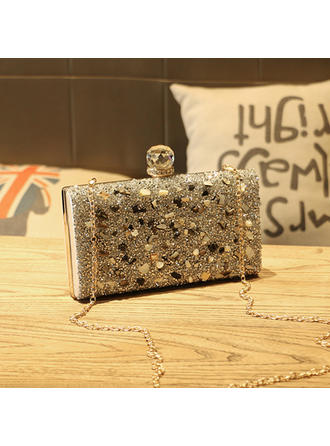 "Clutches Wedding PVC Charming 9.06""(Approx.23cm) Clutches & Evening Bags"