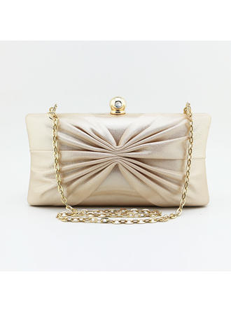 """Clutches Ceremony & Party Satin Attractive 7.48""""(Approx.19cm) Clutches & Evening Bags"""