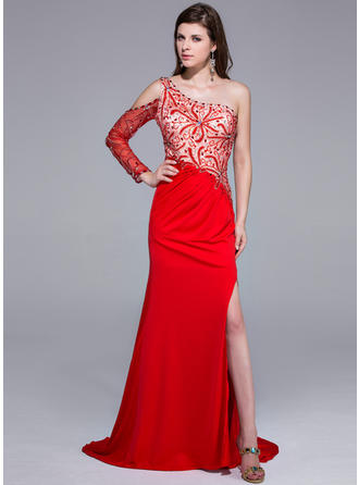 court train prom dresses