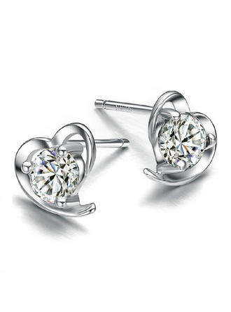Earrings Zircon Pierced Ladies' Sparking Wedding & Party Jewelry (011165697)