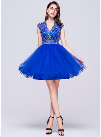 cheap red short homecoming dresses