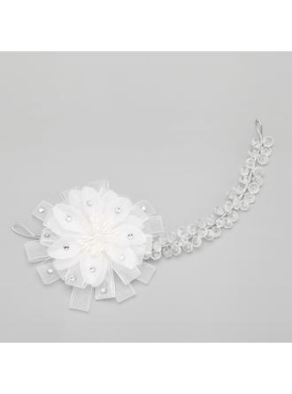 "Headbands Wedding/Special Occasion/Party Crystal/Alloy 9.65""(Approx.24.5cm) 3.35""(Approx.8.5cm) Headpieces"