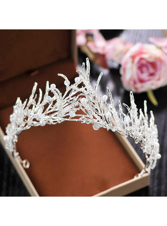 "Tiaras Wedding/Special Occasion/Party Crystal/Rhinestone/Alloy 2.36""(Approx.6cm) 5.12""(Approx.13cm) Headpieces"