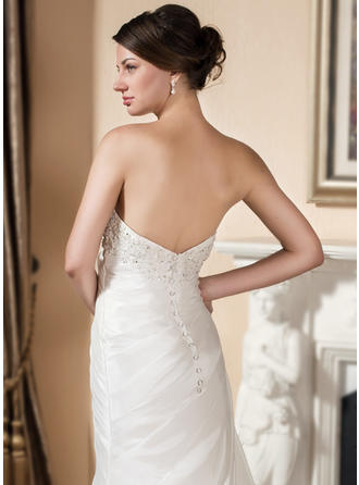 elegant satin wedding dresses