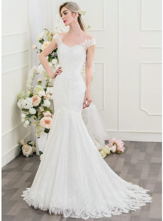 Trumpet/Mermaid - Lace Wedding Dresses