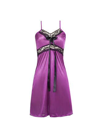 Sleepwear Casual Feminine Lycra/Spandex Comfortable Lingerie