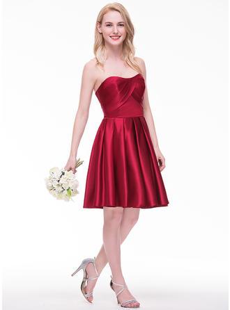 tafetta bridesmaid dresses
