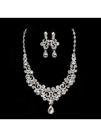 Jewelry Sets Alloy Lobster Clasp Ladies' Elegant Wedding & Party Jewelry