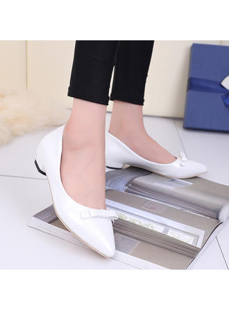 Women's Pumps Low Heel Leatherette No Wedding Shoes