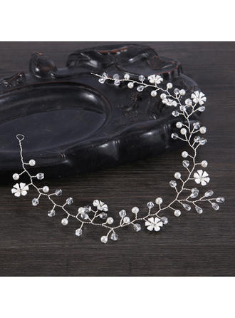 Ladies Special Alloy/Imitation Pearls Headbands With Venetian Pearl (Sold in single piece)