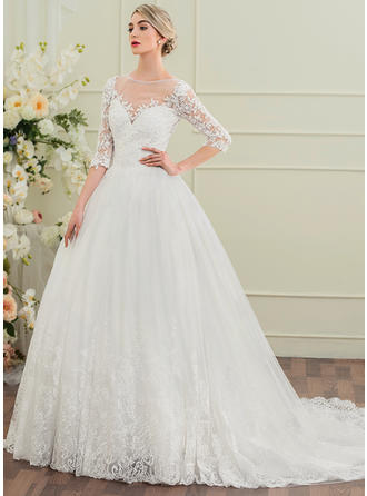 Ball-Gown With Princess General Plus Wedding Dresses