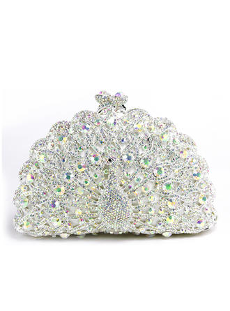 Clutches Wedding/Ceremony & Party Alloy Clip Closure Dreamlike Clutches & Evening Bags (012188166)