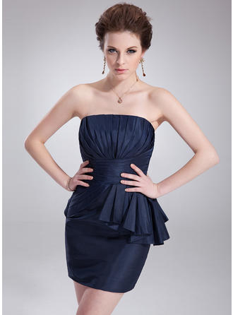 Fashion Sheath/Column General Plus Taffeta Cocktail Dresses