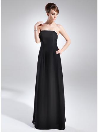 A-Line/Princess Strapless Floor-Length Mother of the Bride Dresses