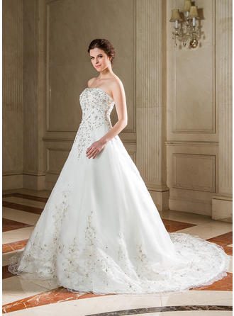 ballet length wedding dresses