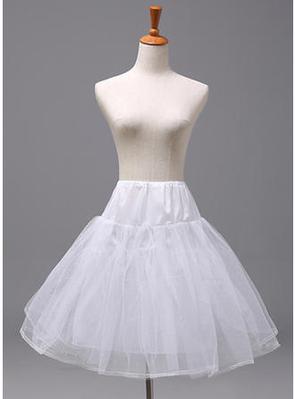 Petticoats Polyester Flower Girl Slip 2 Tiers Wedding Petticoats (037190892)