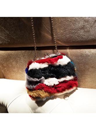 Elegant Pelz Handtaschen