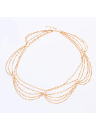 "Forehead Jewelry Special Occasion/Casual/Outdoor/Party Alloy 22.44""(Approx.57cm) 2.76""(Approx.7cm) Headpieces"