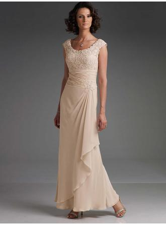 Ankle-Length Mother of the Bride Dresses With Lace