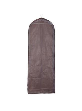 Kleidersäcke Kleid Länge Seitlicher Reißverschluss Tüll/PVC Schokolade Kleidersack für Hochzeitsmode