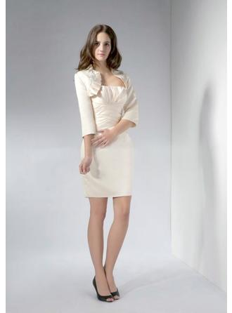 Short/Mini Mother of the Bride Dresses With Pleated
