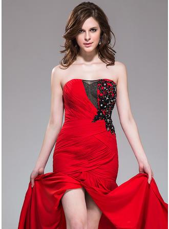 red mermaid prom dresses 2020