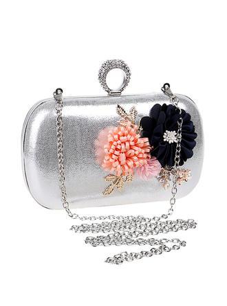 Handtaschen/Umhängetasche Hochzeit/Zeremonie & Party Polyester Busseln Arretieren Verschluss Elegant Clutches & Abendtaschen