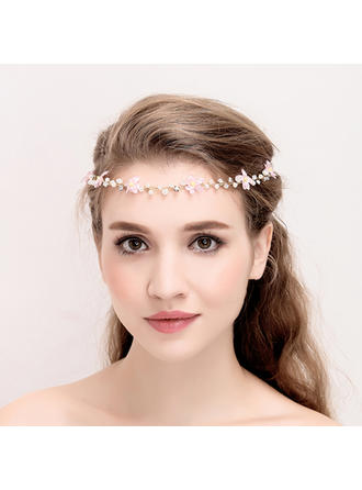 "Headbands Wedding/Special Occasion/Party Alloy/Imitation Pearls 14.57 ""(Approx.37cm) Beautiful Headpieces"