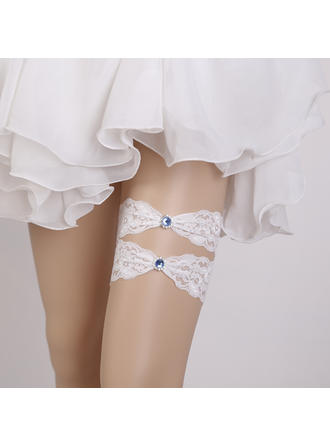 Garters Women/Bridal Wedding/Special Occasion Lace With Rhinestone Garter (104196611)