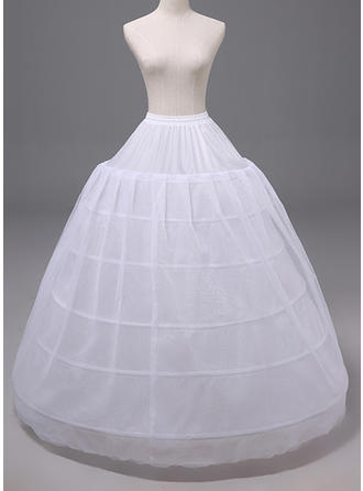 Petticoats Polyester Ball Gown Slip Wedding Women Petticoats