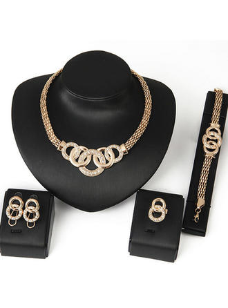 "Jewelry Sets Alloy Ladies' Fashional 29.53"" (Approx.75cm) Wedding & Party Jewelry"