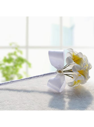 "Bridesmaid Bouquets Wedding Foam/Ribbon 11.8""(Approx.30cm) Due to it is handmade/ slight difference is unavoidable. Wedding Flowers"