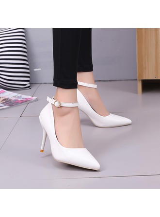 Women's Pumps Stiletto Heel Leatherette No Wedding Shoes