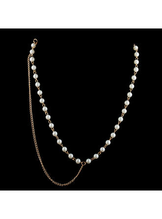 "Forehead Jewelry Special Occasion/Casual/Outdoor/Party Alloy/Imitation Pearls 21.26""(Approx.54cm) 0.20""(Approx.0.5cm) Headpieces"