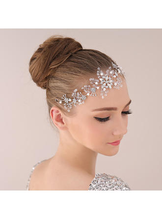 "Headbands Wedding/Special Occasion/Party Alloy 10.24""(Approx.26cm) 2.76""(Approx.7cm) Headpieces"