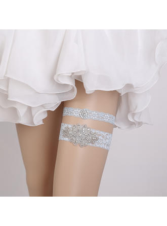 Garters Women/Bridal Wedding/Special Occasion Lace With Rhinestone Garter (104196613)