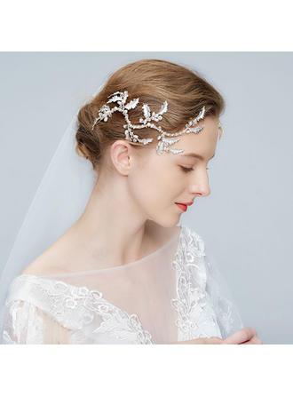 Glamourös Legierung Stirnbänder mit Strass/Venezianischen Perle/Kristall (Set von 2)