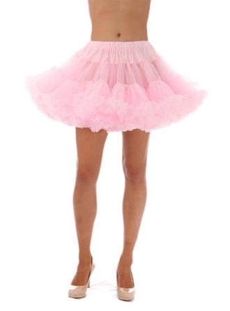 Bustle Short-length Tulle Netting/Satin Short Flare Slip 1 Tiers Petticoats