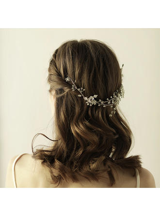 "Combs & Barrettes Wedding/Special Occasion/Party/Art photography Alloy 15.75""(Approx.40cm) 3.15""(Approx.8cm) Headpieces"