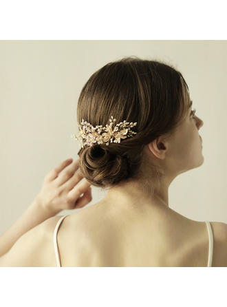 "Combs & Barrettes Wedding Alloy 2.56""(Approx.6.5cm) 4.33""(Approx.11cm) Headpieces"